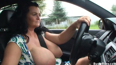 Car driving and public flashing