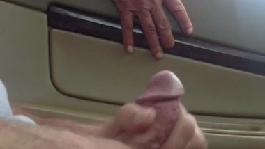 Flashing and Jerking For Mature Friend!