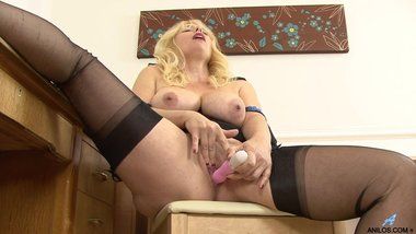 First naughty video for big tit mature mom
