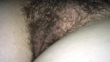 Wife's hairy pussy