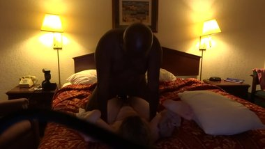 Wife takes BBC in hotel room