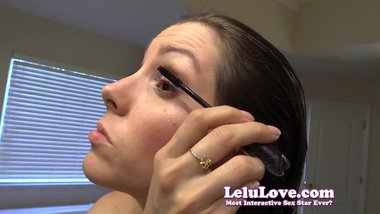 Lelu Love-Putting On Makeup And Getting Dressed