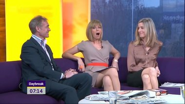Kate Garraway - Grey Mini Dress!!!