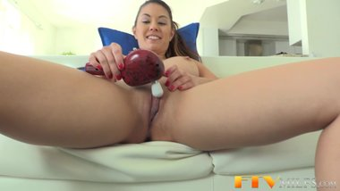 Milf beauty toys in pov
