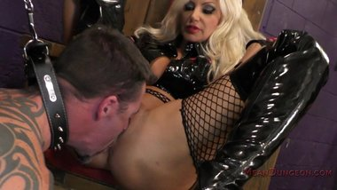 Mistress Brittany Andrews Uses Her Slave For Her Pleasure! - Femdom Worship