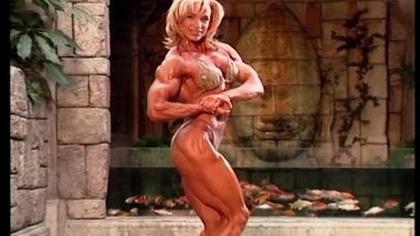 Valentina Chepiga the muscle Whore make a damn horny whoring Dance