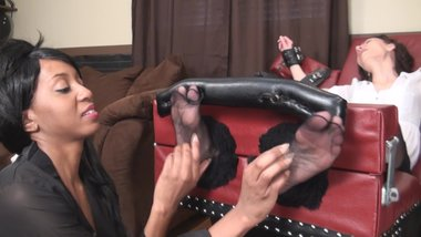 milf k tickle torture in nylons