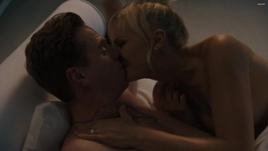 Malin Akerman Topless In Billions S02 E06