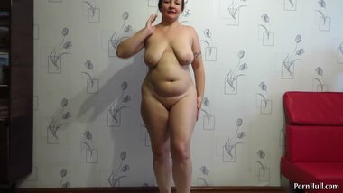 Mother's milkshire exercise with big tits