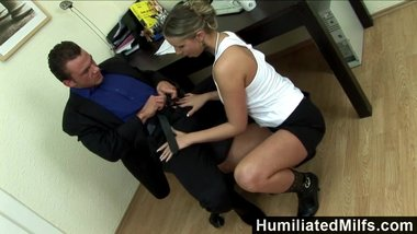 HumiliatedMilfs - Filthy Francesca Felucci Earns A Promotion The Honest Way