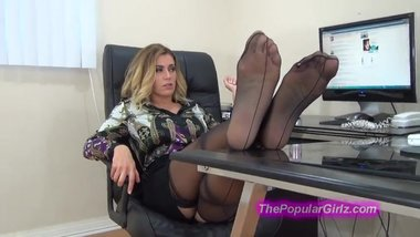 Randy Moore Office Feet Joi