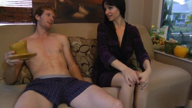 Angie Relieves Son's Morning Wood