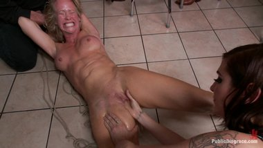 Tig Ole Bittied MILF Takes Everything Strangers Give Her