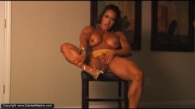 Denise Masino Muscle Striptease