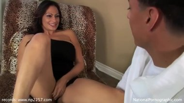 HOT STEPMOM AND SON