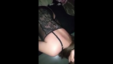 Ass to mouth switch with my wife Lauren