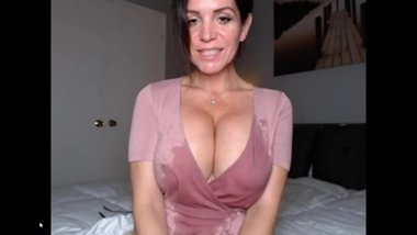 Saliva Covered Tits