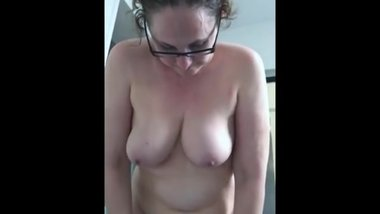 My natural and mature soft udders in slow motion